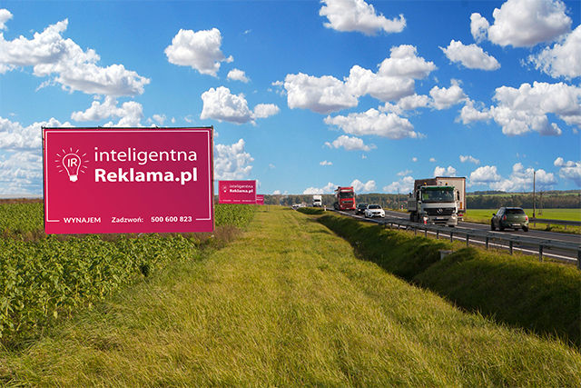 Odległość reklamy - konstrukcji od drogi